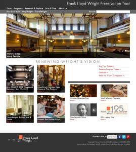 Frank Lloyd Wright Trust Website
